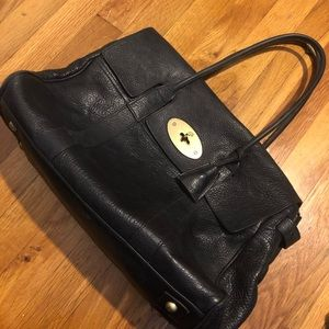Mulberry Bayswater Black Pebbled Leather Bag 0245351f8e